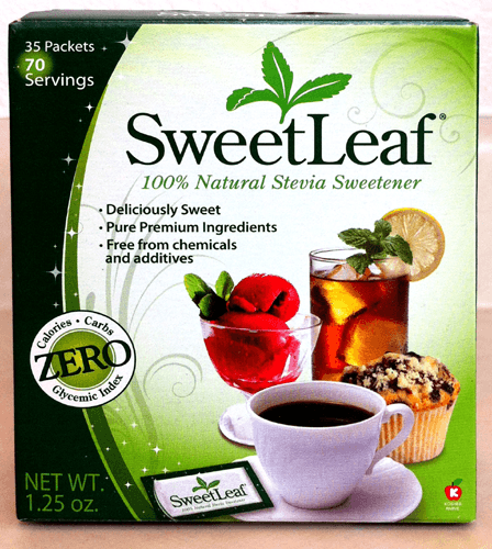 SweetLeaf 100% Natural Sweetener 35 Packets