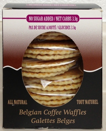 La Nouba No Sugar Added Coffee Belgian Waffles