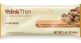 Think Thin Mixed Nuts Crunch Bar