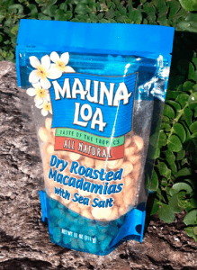 Mauna Loa Macadamias, Dry Roasted with Sea Salt