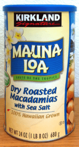 Mauna Loa Roasted Macadamia Nuts with Sea Salt