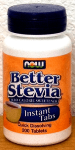 Better Stevia Tablets by Now Foods