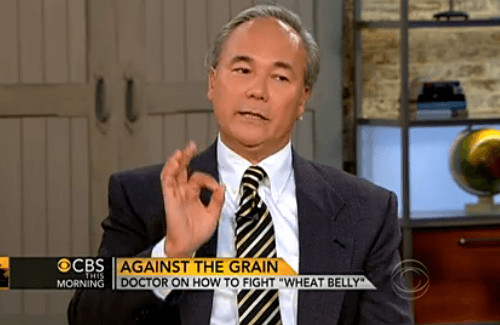 Dr. William Davis Author of Wheat Belly on CBS Morning News