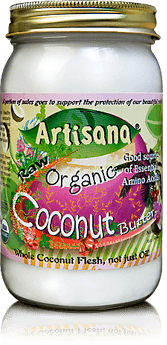 Artisana 100% Organic Coconut Butter 16 oz. jar