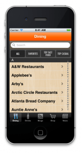 LC Dining App on iTunes