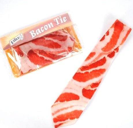 Men's Bacon Meat Tie