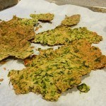 Low Carb Spinach Crackers