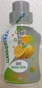 Sodastream Diet Lemon Lime Flavored Soda Mix