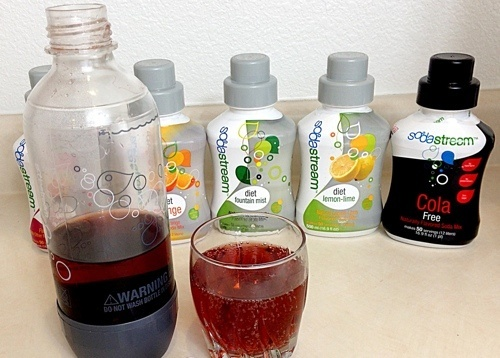 Sodastream Soda Mixes