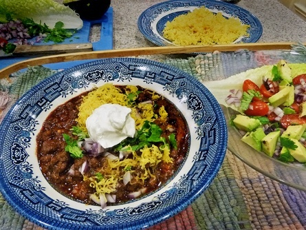 Low carb Wick Fowler Chili Knock-off