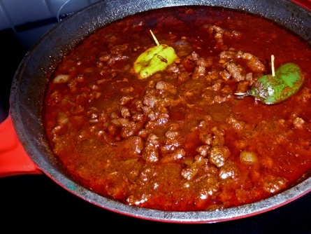2 Alarm Low Carb Knock Off Chili