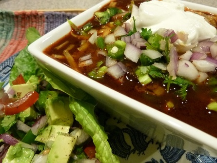 A bowl of True Texas Chili warms your low carb soul on a cold winter's day.