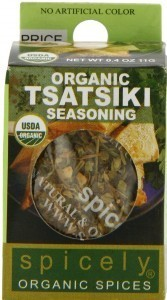 Organic Tsatsiki Seasoning Mix by Spicely Organic Spice