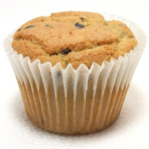Carb-O-Licious Chocolate Chip Muffin