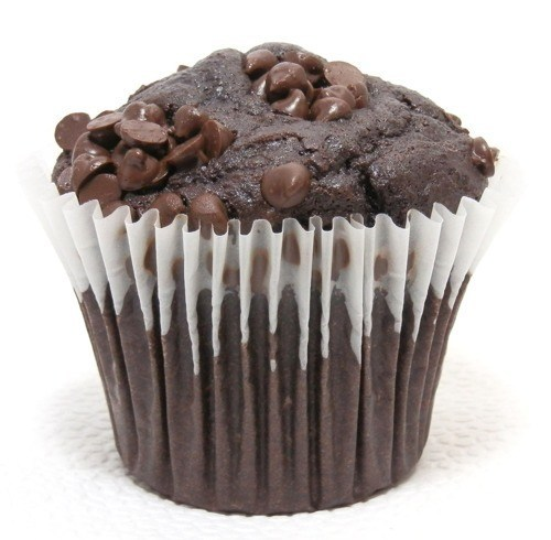 Carb-O-Licious Chocolate Chocolate Chip Muffin