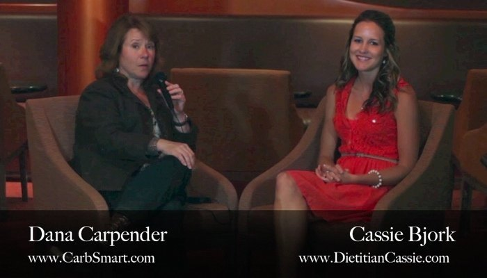 Dana Carpender Interviews Dietitian Cassie 700x400 -2
