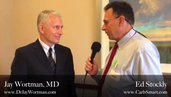 Ed Stockly Interviews Jay Wortman MD for CarbSmart
