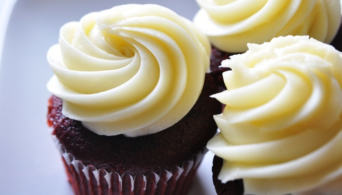 Red Velvet Cupcakes Recipe from CarbSmart Grain-Free, Sugar-Free Living Cookbook
