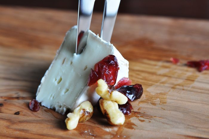 Cranberry Almond Brie Recipe from CarbSmart Low-Carb & Gluten-Free Holiday & Entertaining Cookbook
