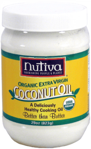 Nutiva Organic Extra Virgin Coconut Oil, 29-Ounce Jar